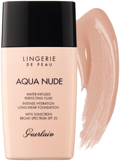 Guerlain Lingerie de Peau Aqua Nude Foundation N02C Light Cool 30ml