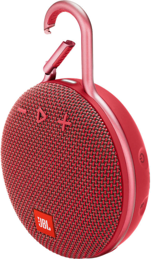 JBL CLIP 3 Portable Bluetooth Speaker - Fiesta Red 220 g