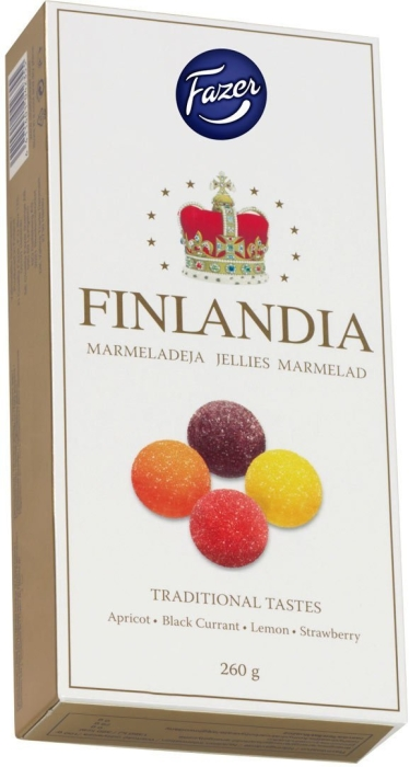 Fazer Finlandia Jellies 260g