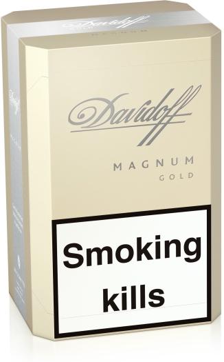 Davidoff Magnum Gold 200s RUSP Carton