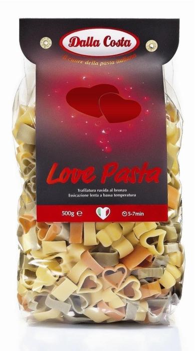 Dalla Costa Love Pasta Tricolore 0.5kg