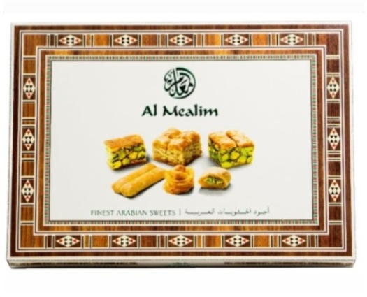 Al Mealim Arabian Sweets 240G TIN BOX 240g