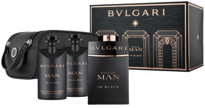 Bvlgari Man in Black Set 60ml+40ml+40ml