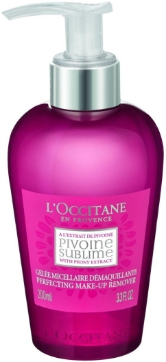 L'Occitane en Provence Peony Gel Make Up Remover 200ml
