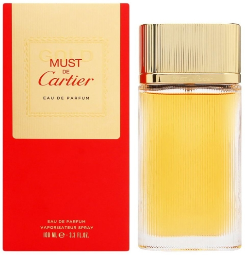 Cartier Must Gold EdP 100ml