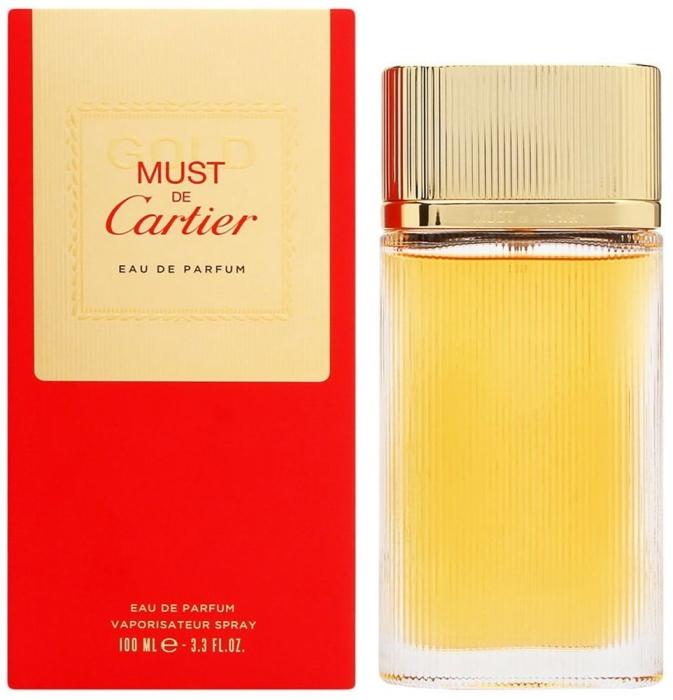 Cartier Must Gold EdP 100ml