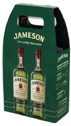 Jameson 40% 2x1L