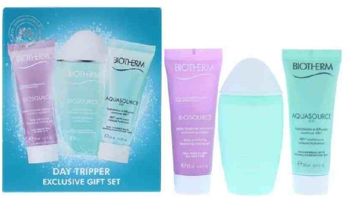Biotherm Aquasource Day Tripper Gift Set 30ml+20ml+20ml