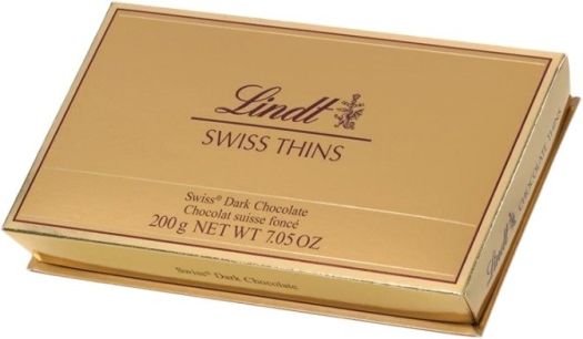 Lindt Dark Thins 200g
