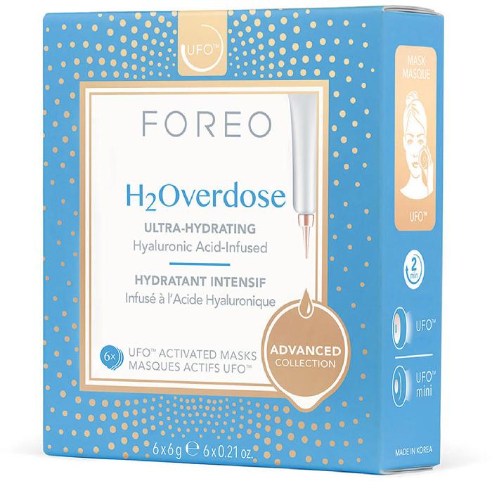 Foreo UFO Masks H2Overdose x 6 ultra-hydrating