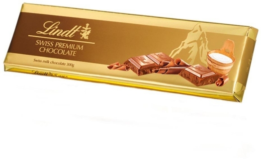 Lindt Gold Milk Chocolate 300g