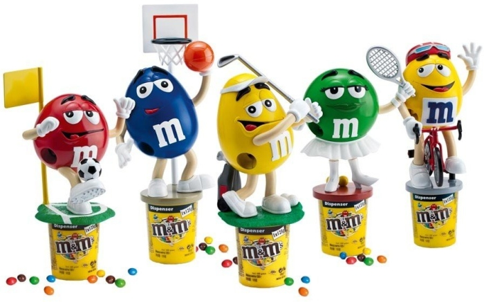 M&M's Peanut Dispenser 125 g