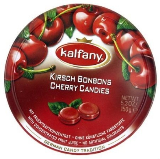 Kalfany Cherry Candies 150g