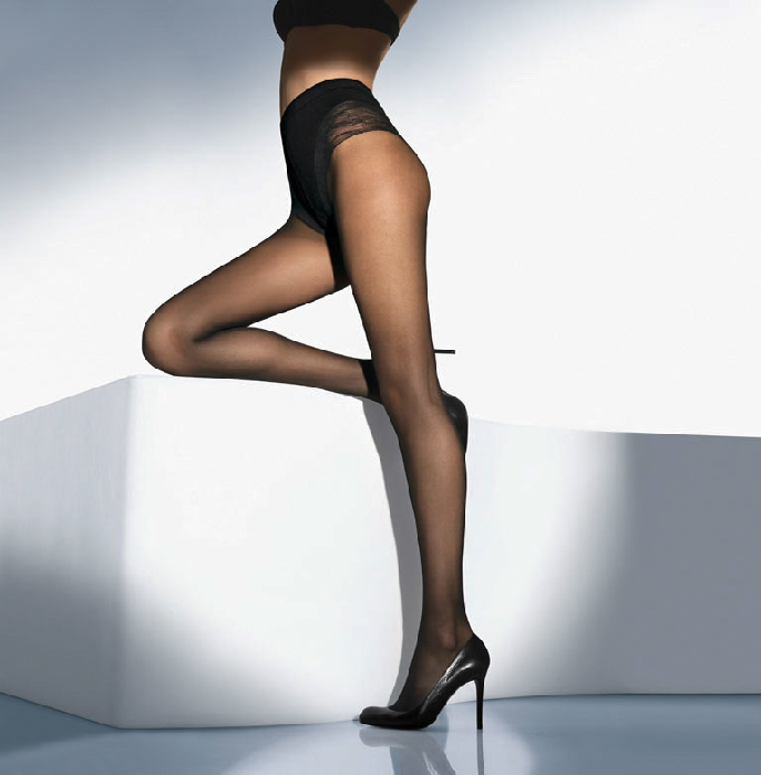 Wolford TUMMY 20 CONTROL TOP Tights 7005 M