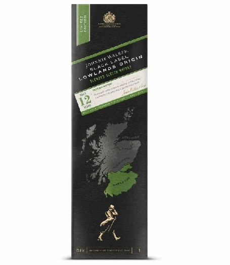 Johnnie Walker Black Label Lowlands Origin sweet