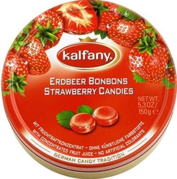 Kalfany Strawberry Candies 150g