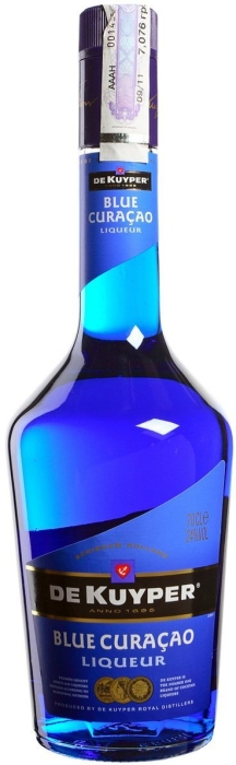 De Kuyper Blue Curacao 1L