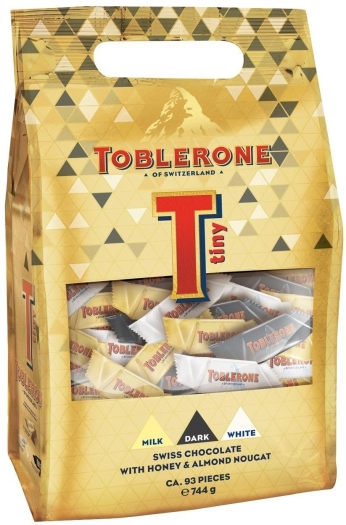 Toblerone Tiny Party Bag 744g