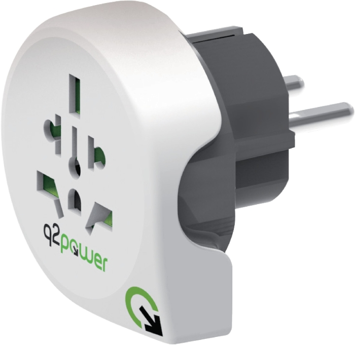 Q2 Power Country Adapter Us 140
