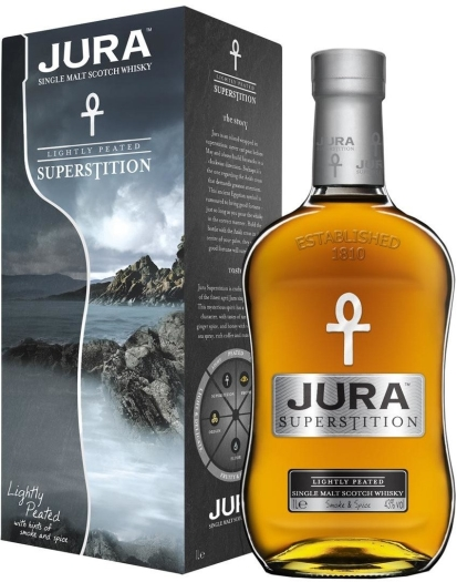 Isle of Jura Superstition Giftbox 1L