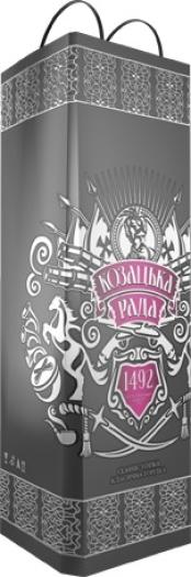 Kozatska Rada Classic vodka souvenir 0.7L