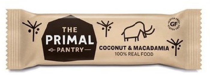 TPP The Primal Pantry Coconut&Macadamia Raw Bar 45G