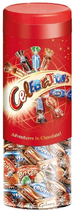 Celebrations Jar 810g
