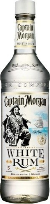 Rum Captain Morgan White 1L