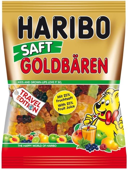 Haribo Saft Goldbaren 450g