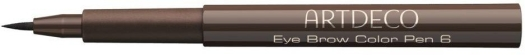 Artdeco Eye Brow Color Pen N6 Medium Brown 1.1ml