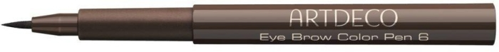 Artdeco Eye Brow Color Pen N6 Medium Brown 1.1ml