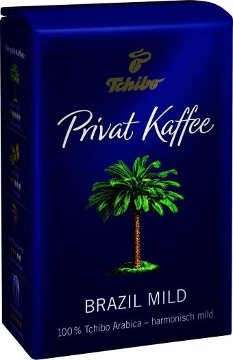 Tchibo Privat Kaffee Brazil Mild 0.5kg