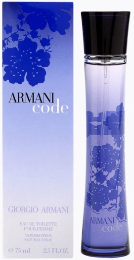 Armani Code Pour Femme EdT 75ml