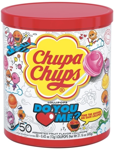Chupa Chups Do You Love Me 600g