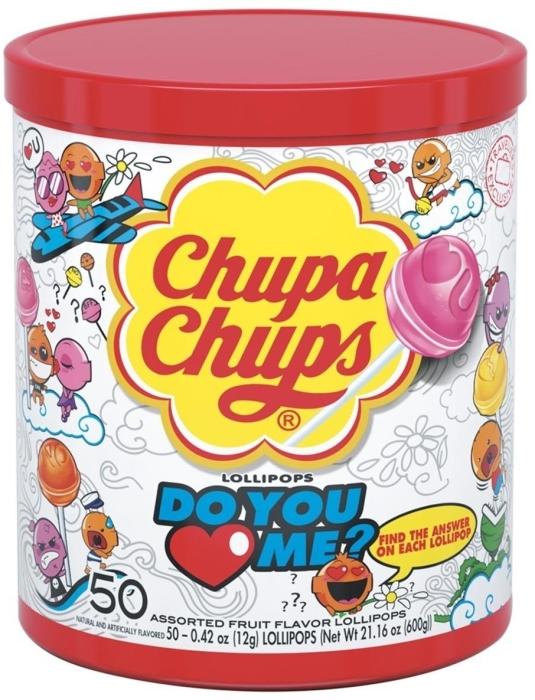 Chupa Chups Do You Love Me 600g