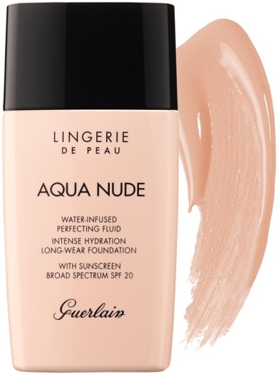 Guerlain Lingerie de Peau Aqua Nude Foundation N01N Very Light 30ml