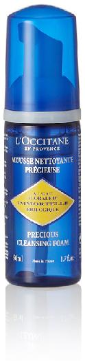 L'Occitane en Provence Immortelle Precious Cleansing Foam Travel Size 50ml