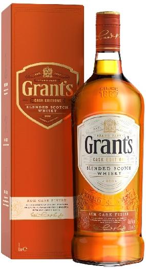 Grant's Rum Cask Finish 40% 1L