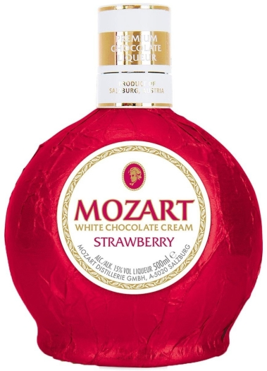 Mozart Strawberry 15% 0.5L
