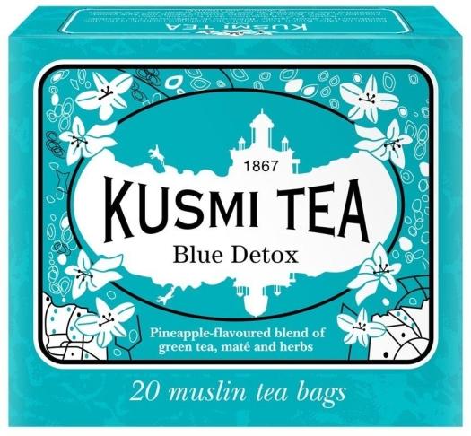 Kusmi Tea Blue Detox 20 Muslin Tea Bags 44g