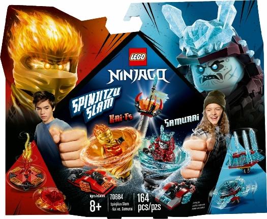 Lego Ninjago Spinjitzu Slam – Kai 70684