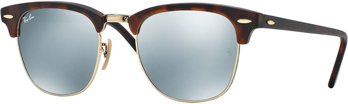 Ray-Ban Clubmaster in Sand Havana/Gold