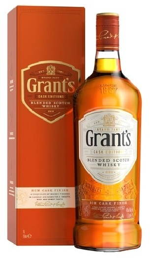 Grant's Rum Cask Finish 1L