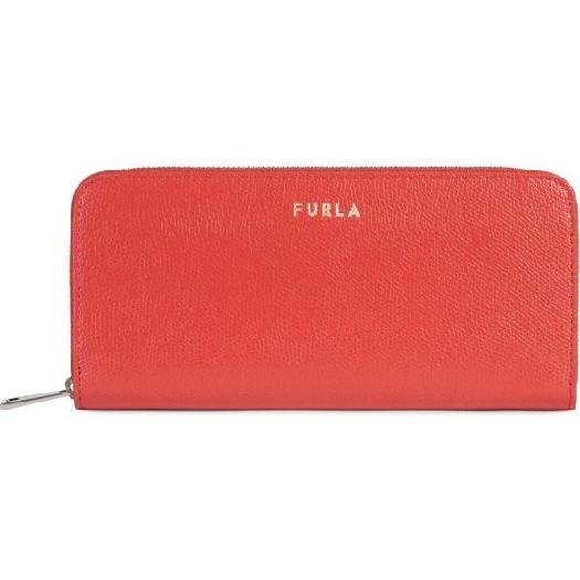 Furla Next XL Ziparound slim Wallet, Red 1056302