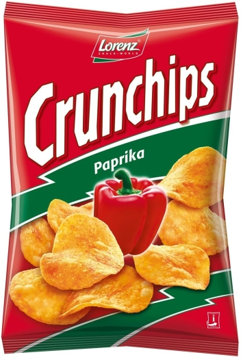 Bahlsen Crunchips Paprika 100g