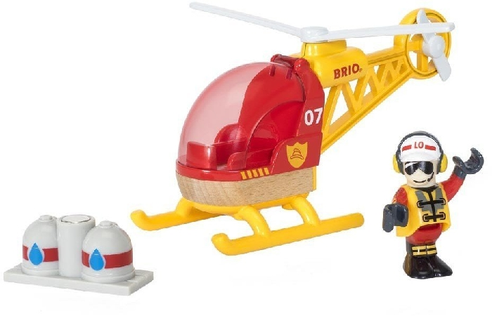 BRIO RW Accesso Firefighter Helicopter