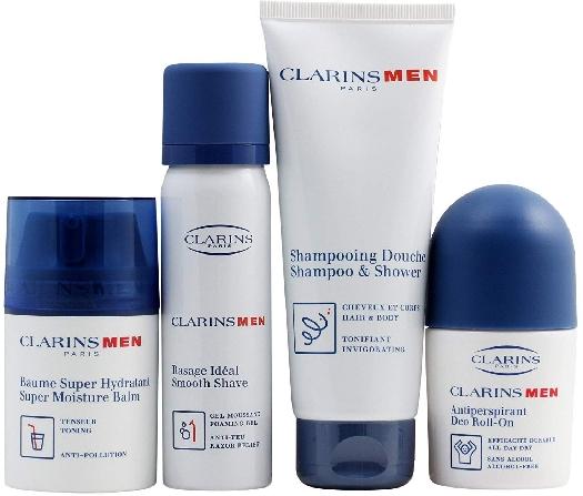 Clarins Men Grooming Essentials Gift Set 250ml