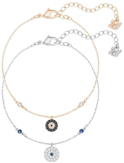 Swarovski Crystal Wishes Evil Eye 5272256 Bracelet Set