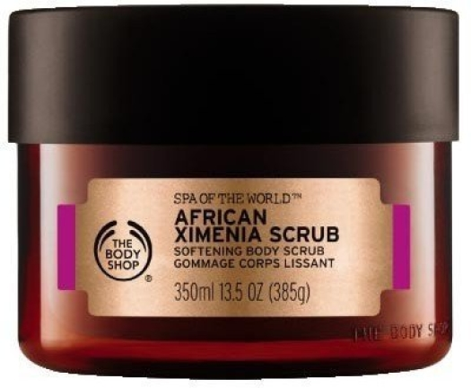 The Body Shop Spa of the World African Ximenia Körperpeeling 350ml