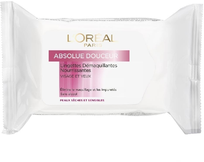 L'Oreal Skin Perfection Nourishing Cleansing Wipes